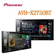 圖片 【PIONEER】 AVH-X2750BT DVD/USB/MP3/iPhone/iPad