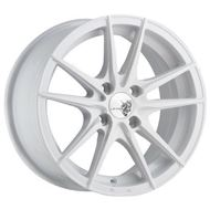 圖片 【LEADER WHEELS】鋁圈 EK4-15吋4孔100白色 (MARCH、SENTRA、ALTIS、VIOS、LANCER、COLT PLUS、SOLID、SWIFT可用)